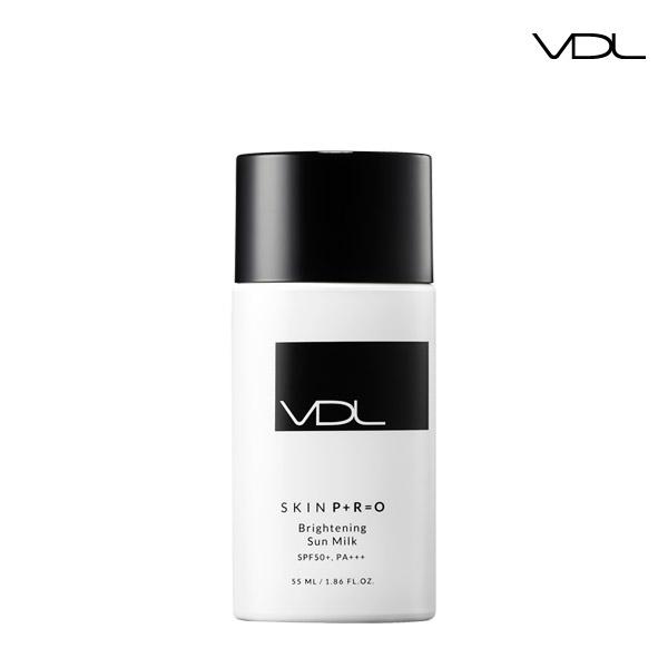VDL专业亮白肌肤55毫升乳线