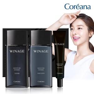 [Men's Gift BEST] Coreana WINEE Homme 3种套装