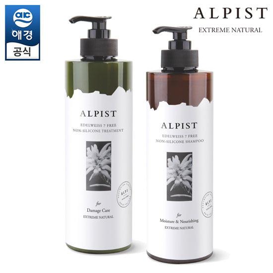 [Aekyung] Alfist Edelweiss洗发水/护理液1000ml
