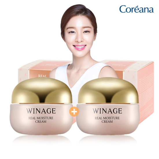 [1 + 1] Coreana Wise真正保湿面霜50ml