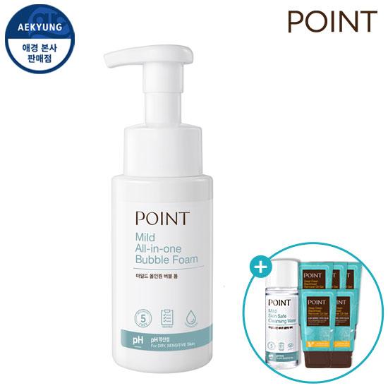 Point Mild泡沫泡沫260ml
