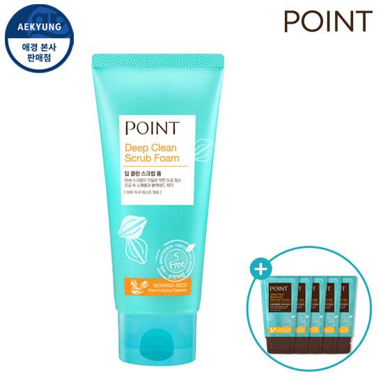 Point Deep CLEAN磨砂泡沫150g +产品