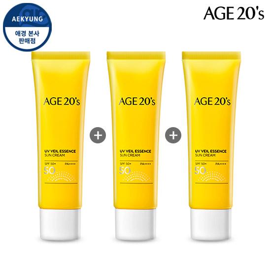 (1 +1 +1)青春活肤UV Veil精华防晒霜SPF50 + / PA ++++