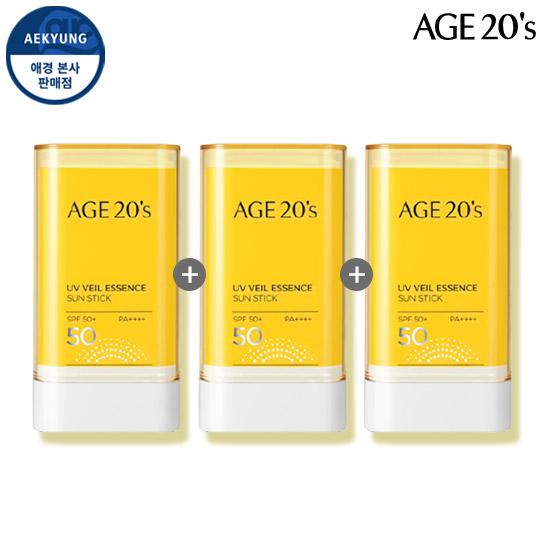 (1 +1 +1)青春活肤UV Veil精华防晒棒SPF50 + / PA ++++