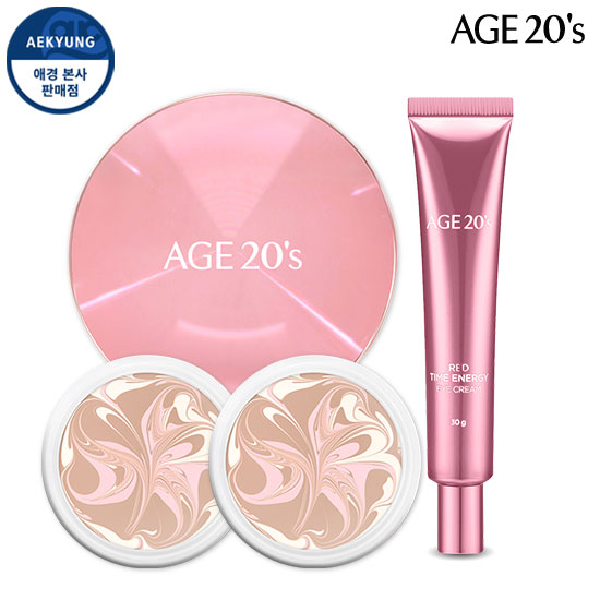 Age to Wenis精华乳霜Pact LF Radiance Edition特别套装(盒子+补充装2+眼霜)